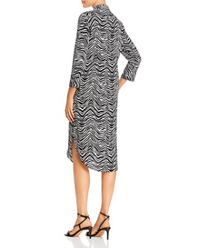 VINCE CAMUTO - Tie-Waist Shirt Dress