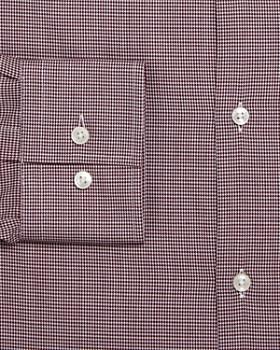 BOSS - Jason Micro-Houndstooth Slim Fit Dress Shirt