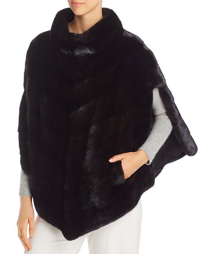 Maximilian Furs - Mink Fur Poncho - 100% Exclusive