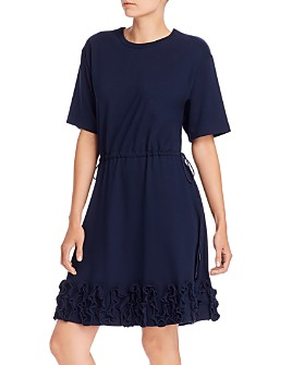 See by Chloé - Ruffled Drawstring Dress