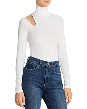 DL1961 Pell St. Turtleneck Cutout Bodysuit-Women