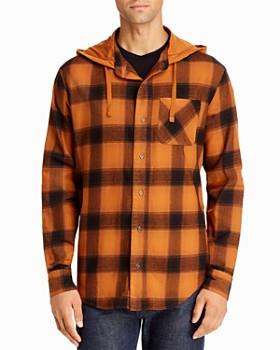 Threads 4 Thought - Schuyler Hooded Regular Fit Button-Down Shirt