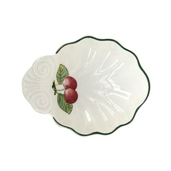 "Villeroy & Boch - ""French Garden"" Shell Bowl, Small"