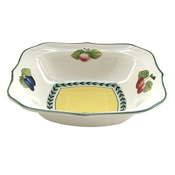 "Villeroy & Boch - ""French Garden"" Fleur Square Individual Bowl"