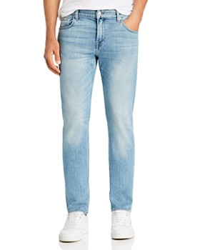 7 For All Mankind - Slimmy Slim Fit Jeans in Washed Out