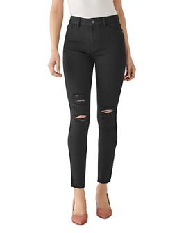 DL1961 - Farrow Ankle High-Rise Jeans in Kodiak