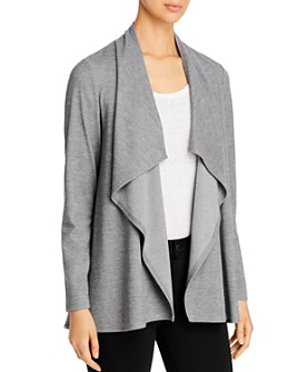 Karen Kane - Draped Ponte Toggle Cardigan - 100% Exclusive