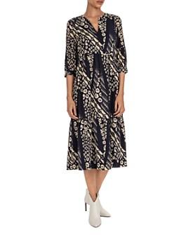 ba&sh - Orson Printed Midi Dress
