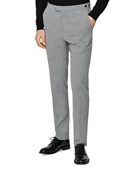 REISS - Napoleon Houndstooth Regular Fit Pants