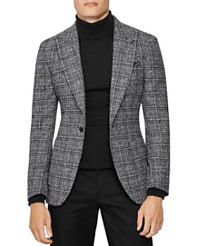 REISS - Aston Checked Slim Fit Blazer