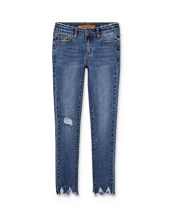 Joe's Jeans - Girls' Mid-Rise Distressed Jeans - Little Kid