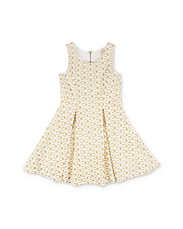 Hannah Banana - Girls' Glitter Fit-and-Flare Dress - Little Kid