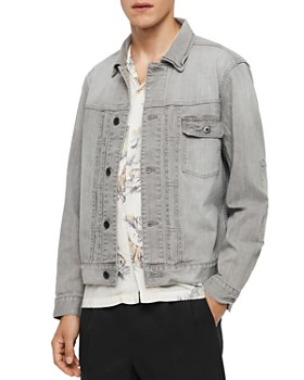 ALLSAINTS - Gasidro Distressed Denim Jacket