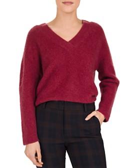 Gerard Darel - Shade Textured V-Neck Sweater