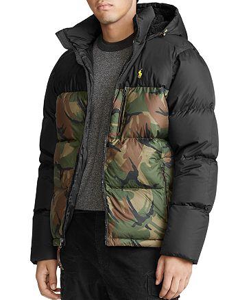 Polo Ralph Lauren - Camo-Print Down Jacket