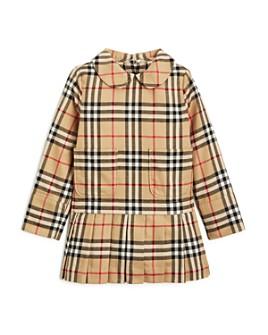 Burberry - Girls' Melanie Vintage Check Dress - Little Kid, Big Kid