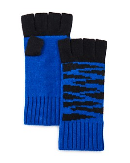 AQUA - Tiger Fingerless Cashmere Gloves - 100% Exclusive