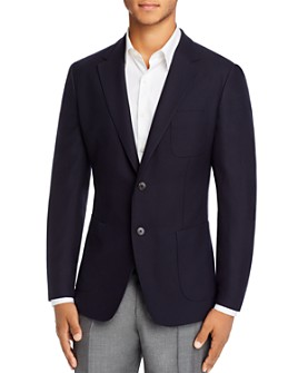 Z Zegna - Drop 8 Wash & Go Textured Slim Fit Blazer