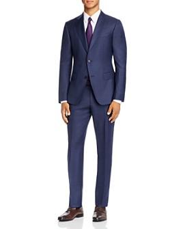 Z Zegna - Drop 8 Check Slim Fit Suit