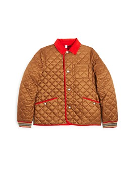 Burberry - Boys' Culford Quilted Bomber Jacket - Little Kid, Big Kid
