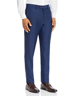 The Men's Store at Bloomingdale's - Birdseye Classic Fit Dress Pants - 100% Exclusive