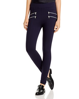 Bagatelle - Seamed Zipper Leggings