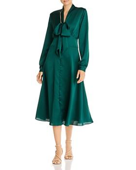 Fame and Partners - Amalia Satin Midi Dress - 100% Exclusive