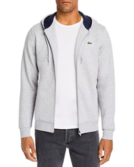 Lacoste - Fleece Full-Zip Hoodie