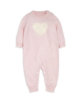 Bloomie's - Girls' Heart Intarsia Cashmere Coverall - Baby