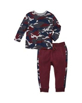 Splendid - Boys' Camo Print Top & Jogger Pants Set - Baby