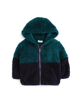 Splendid - Boys' Color-Block Sherpa Hoodie - Baby