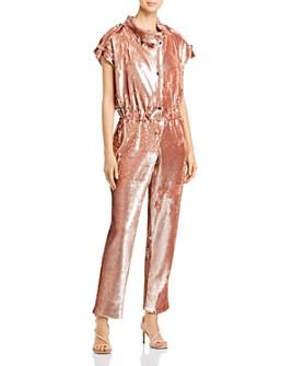 Carolina Ritzler - Paola Sequin-Embellished Jumpsuit