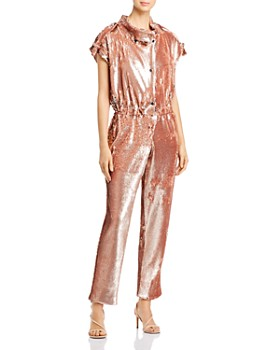 Carolina Ritzler - Paola Sequin-Embellished Jumpsuit