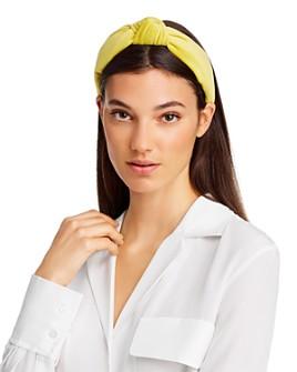 Lele Sadoughi - Velvet Knot Headband