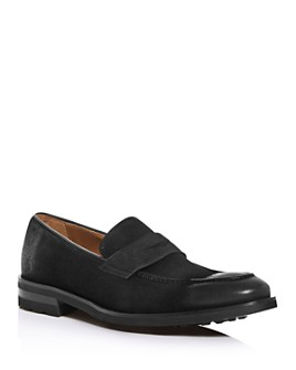 Bruno Magli - Men's Bryan Suede Penny Loafers