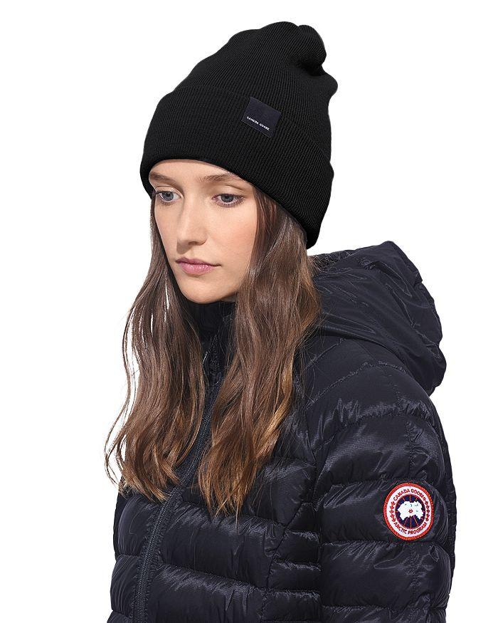Canada Goose Ranger Toque Hat In Black