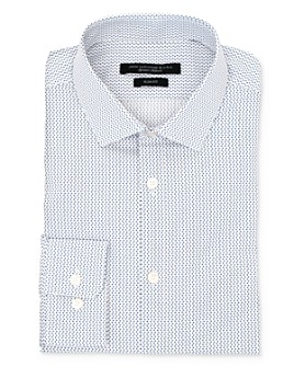 John Varvatos Star USA - U Print Wrinkle-Resistant Slim Fit Dress Shirt