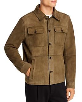 Michael Kors - Suede Shirt Jacket - 100% Exclusive