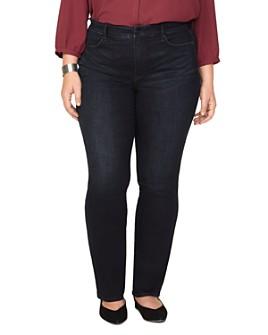 NYDJ Plus - Marilyn Straight-Leg Jeans in Quentin