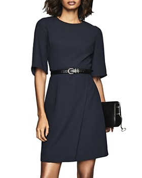 REISS - Myra Faux Wrap Dress - 100% Exclusive