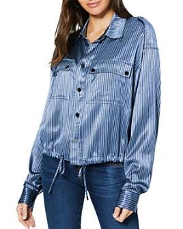 Ramy Brook - Lia Striped Jacket