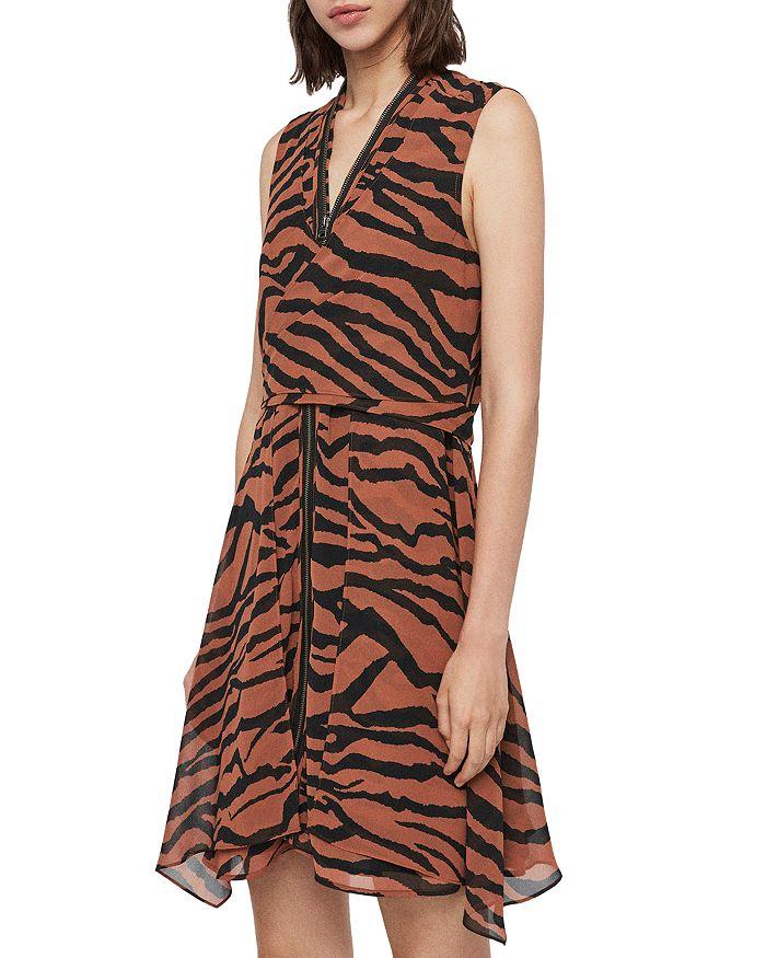 ALLSAINTS - X Jayda Zephyr Zip-Front Dress - 100% Exclusive