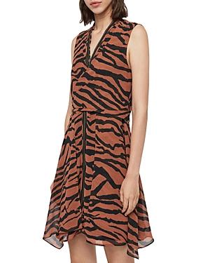 Allsaints X Jayda Zephyr Zip-Front Dress - 100% Exclusive