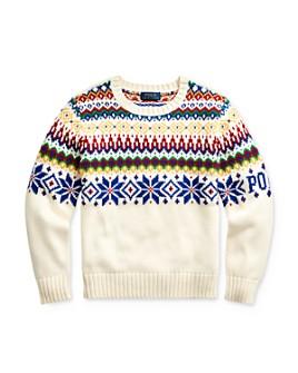 Ralph Lauren - Boys' Snowflake Sweater - Big Kid