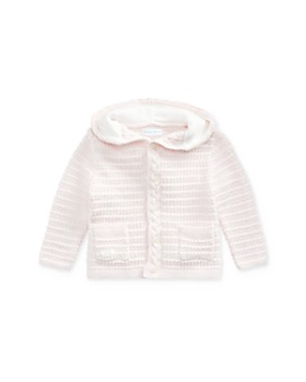 Ralph Lauren - Girls' Bear Hooded Cardigan - Baby