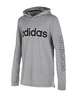 Adidas - Boys' Hooded Logo Tee - Big Kid