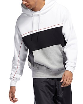 adidas Originals - Rivalry Color-Blocked Hooded Sweatshirt