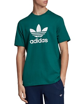Adidas Originals Mens Slim Fit Trefoil Tech Raglan lange Sleeve T Shirt Tee Top