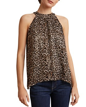 Velvet by Graham & Spencer - Debbie Printed Sleeveless Top