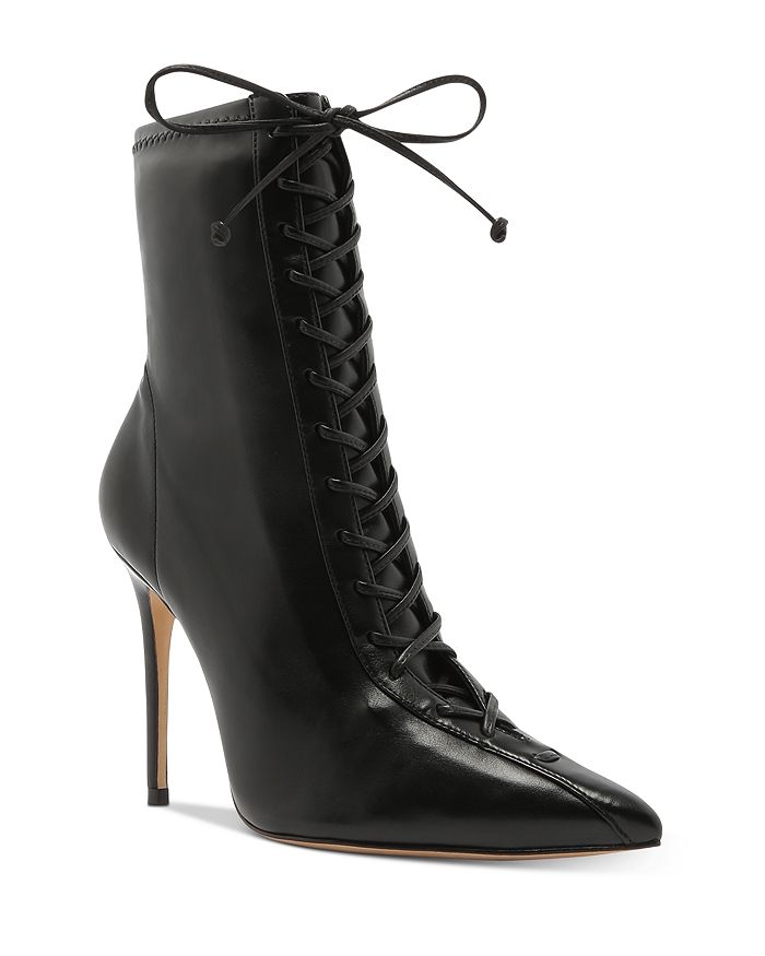 SCHUTZ - Women's Tennie Lace-Up High-Heel Boots